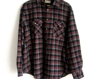 80s, Northwest Territory, Flannel Shirt