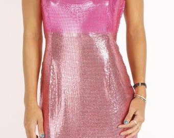 Iconic Vintage VERSACE Metal Mesh Dress
