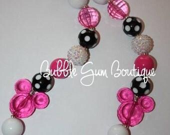 Mouse Bubble Gum Necklace
