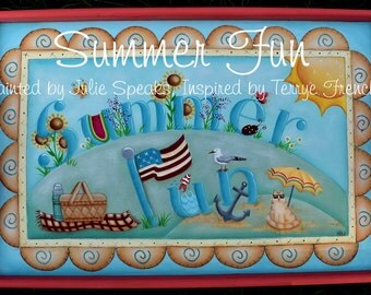 Summer Fun E-Pattern - Julie Speaks