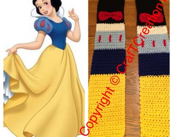 Snow White inspired Scarf