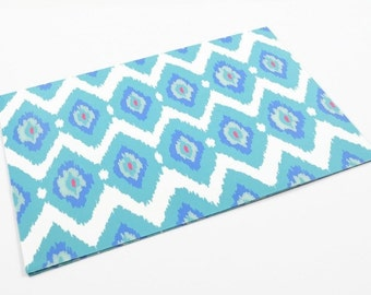 IKAT WRAPPING PAPER - Ikat Folded Wrapping Paper (49cm x 68cm)