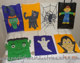 13 Halloween Favor,Goodie,Candy Bags