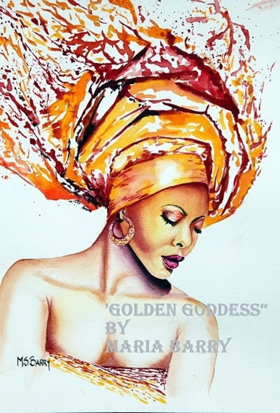African American Women Paintings