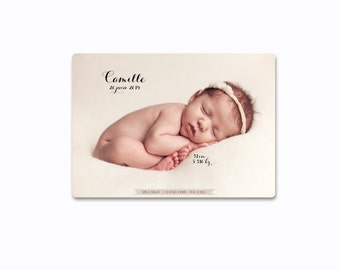 "Birth announcement ""Camille"""