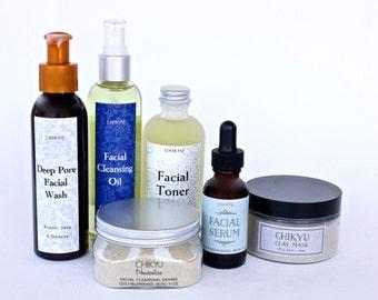Skin Care Set, Skin Care for Oily Skin, Mini Skin Care Set,  Skin Care Gift Set, Neutralize Collection -  Oily/Blemished Skin (Set of 6)