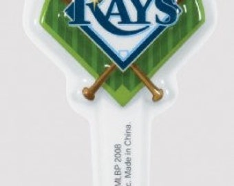 12 MLB Tampa Bay Rays Baseball CUPCAKE picks toppers birthday party favors tailgating & Game Day