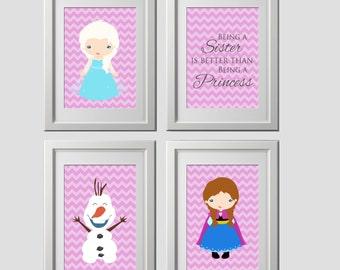 Frozen Wall Art elsa wall art | etsy