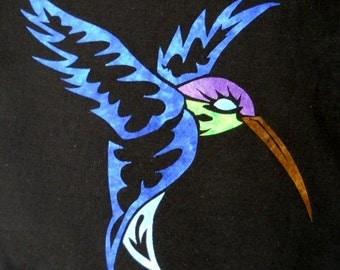 Hummingbird Quilting Applique Pattern Design
