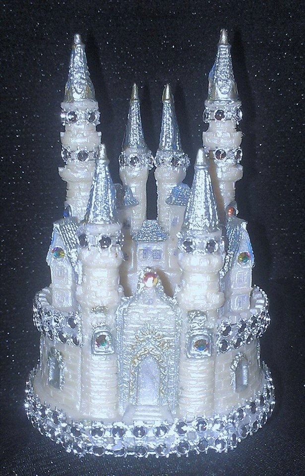 cinderella castle wedding cake toppers wedding cake topper cinderella castle by beautifulcreations7 12854