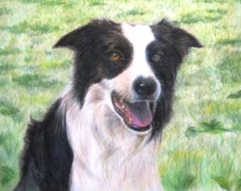 "10x10"" Custom Animal/Pet Portrait"