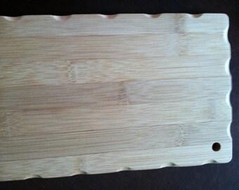 Personalized Bamboo 6 x9 custom Mongram Cutting Board