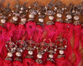 Vintage Chinese Silk Tassels - Lot of 16