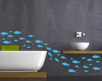 Fish wall decal Fish stickers