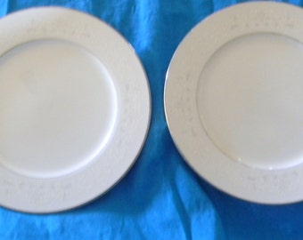 Vintage Sango China Florence Pattern Salad Plates set of 2