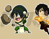 Avatar: The Last Airbender Stickers