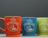 The Three Broomsticks Harry Potter Inspired Sandblasted Etched ceramic coffee mug (1 mug), harry potter gift, three broomsticks gift