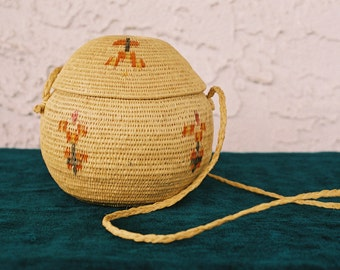 Venezuelan Warao Native Woven Basket
