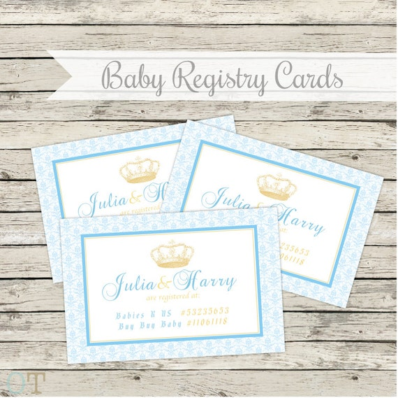 It is a graphic of Juicy Free Printable Baby Registry Cards