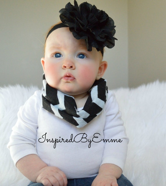 CHEVRON Infant Infinity Scarves