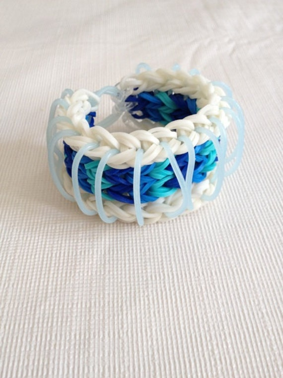 Items similar to Rainbow Loom Sailor Pinstripe Reversible ...