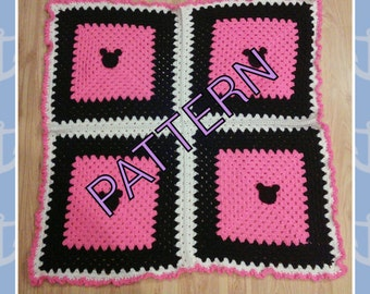 Minnie Mickey Mouse Crochet Pattern. Minnie Mouse baby