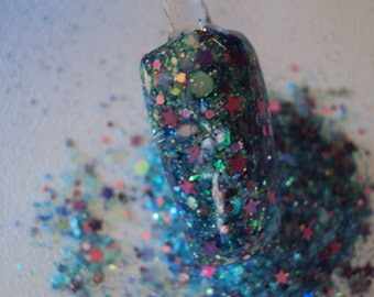 Nail Art Acrylic Gel Glitter Mix     COOL DOWN