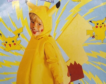 Pokemon Pikachu Costume Custom-made Sizes 2T-8
