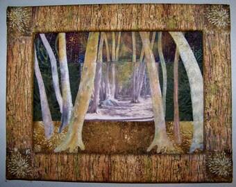 Fibre Artwork - Pathways in the Greenbelt