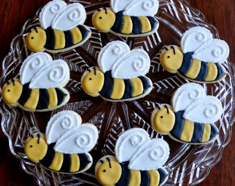 Popular items for bumble bee cookies