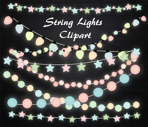 String Lights Clipart String lights clip art Lights clipart