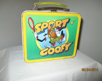 SALE - Vintage Goofy Lunchbox - FREE SHIPPING