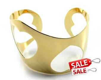 Wide Gold Cuff Bracelet Wide Gold Bracelet Cuff Wide Brass Cuff Bracelet Wide Brass Bracelet Cuff Wide Cuff Bracelet Wide Bracelet Cuff 028