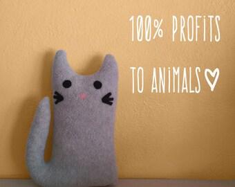 Celeste KITTY GRAM Kitten Plush Cat Fundraiser 100% Profits to Animals