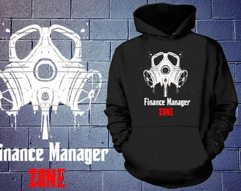 Finance Manager Zone Hoodie Finance Manager Sweatshirt Gift For Finance Manager Profession Sweater