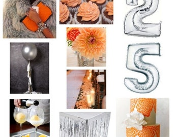 Custom Party Inspiration Board