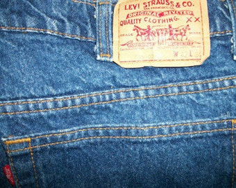 Levis 0216   42 w x 34 L     Made in USA