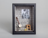 Banjo room, miniature room, music room - MiniaturesBelina