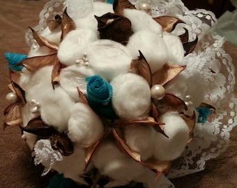 Bouquet, Bridal Bouquet, Shabby Chic Bouquet, Rustic Bouquet
