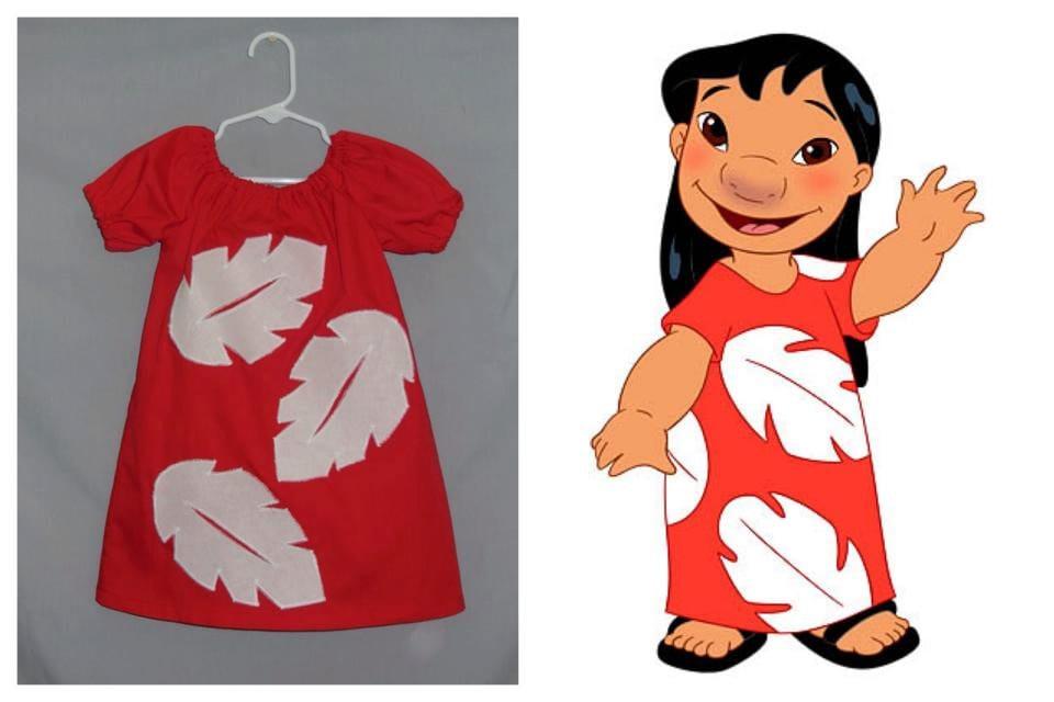 Lilo Costume Pattern Custom Handmade Lilo I...