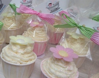 Bath Muffin Creamer - Wedding Favours, Pamper Party Gifts, Mother's Day