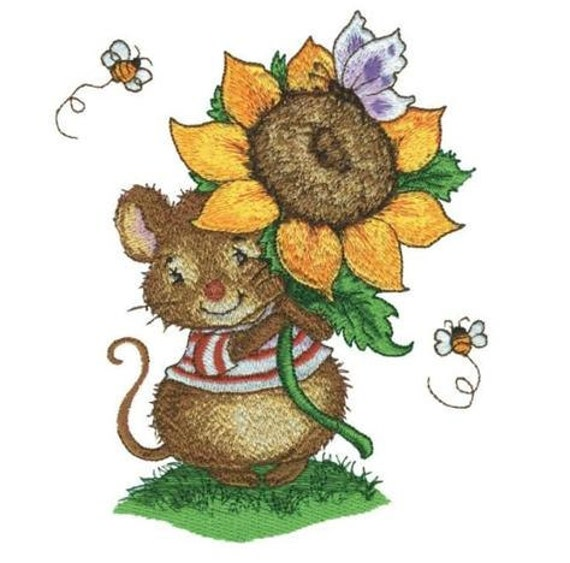 Jumbo Cute Critters Embroidery Designs - PES