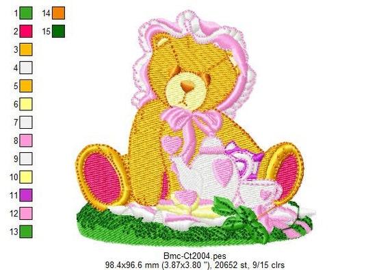 Cherished Teddies 2 Embroidery Designs - PES HUS