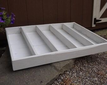 Wood planter box/window planter/herb box/indoor outdoor planter/storage box/organizer/tray