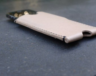iPhone 5 (s) covers, vegetable tanned leather, handmade, iPhone case, iPhone case, iPhone 5 5s 5s cover, handmade iPhone 5 case