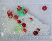 Christmas Glitter Pocket  for your Project Life, Mini-Album or Gift Tag