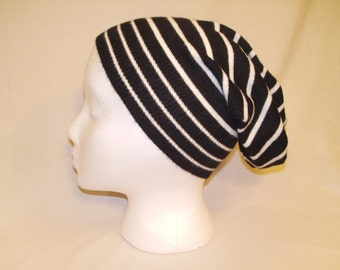 Women's or Men's Slouchy Hat Made from Upcycled / Recycled Sweater