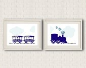 Train Set Print - Boys/Girls Room Decor