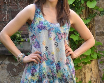 PDF Sewing Pattern  Jersey Baloon Dress Summerbreeze with Ebook sewing instructions