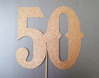 50th Birthday Wedding Anniversary Birthday Number Photobooth Props Holiday Photo Booth Props